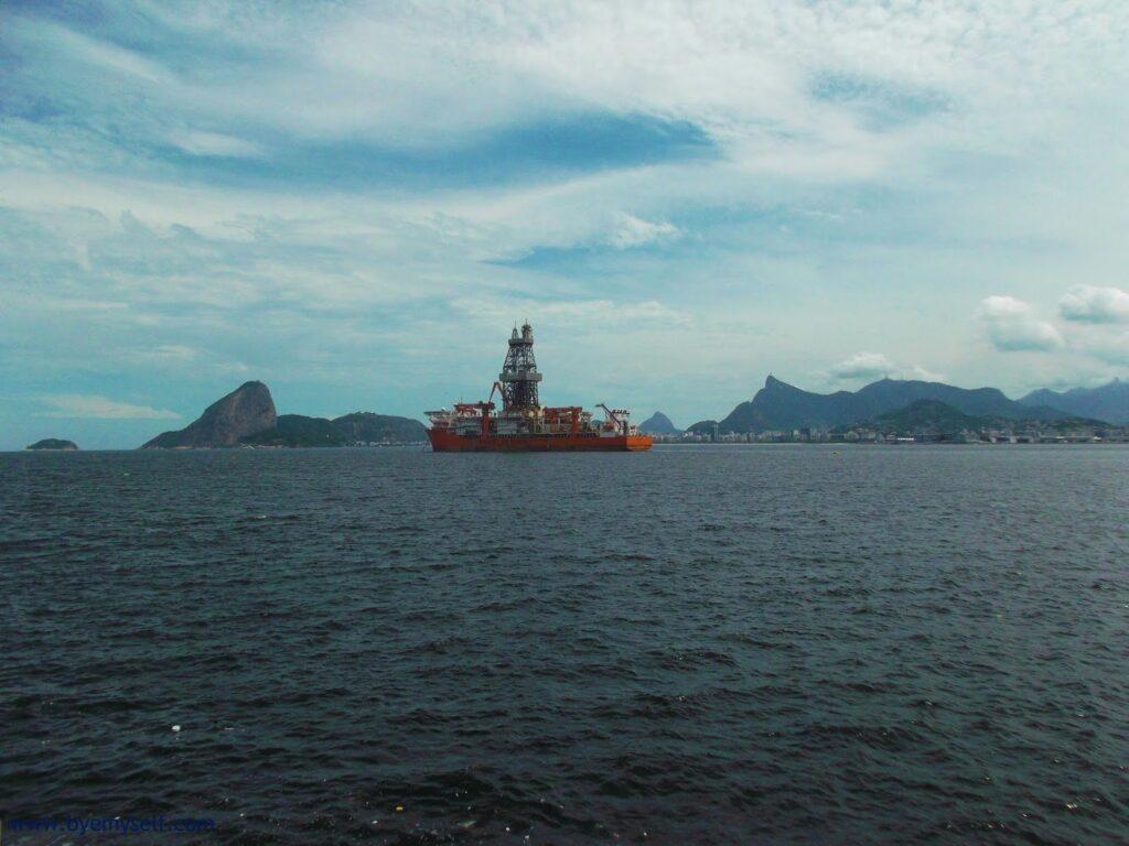 View of Rio de Janeiro from Niterói.
