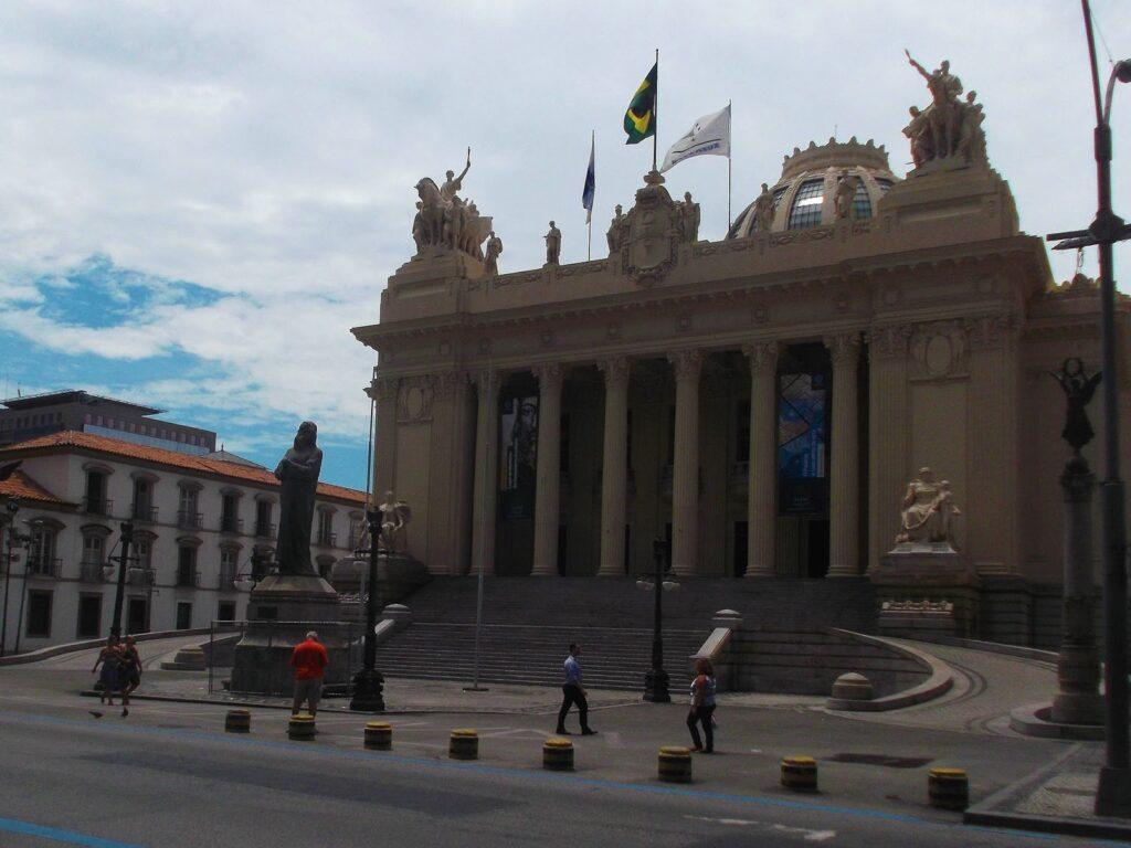 The Parliament of Rio de Janeiro.