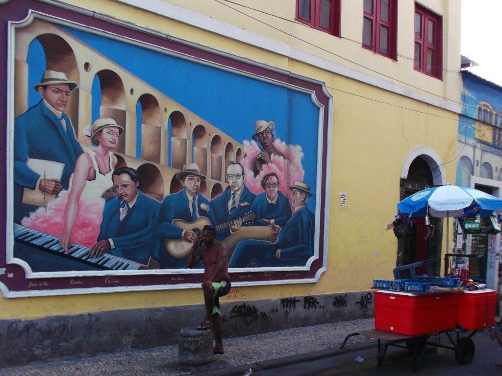 Mural in Rio de Janeiro