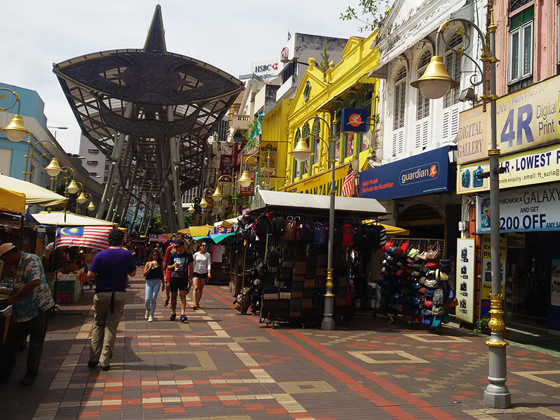 Jalan Hang Kasturi Central Market in Kuala Lumpur