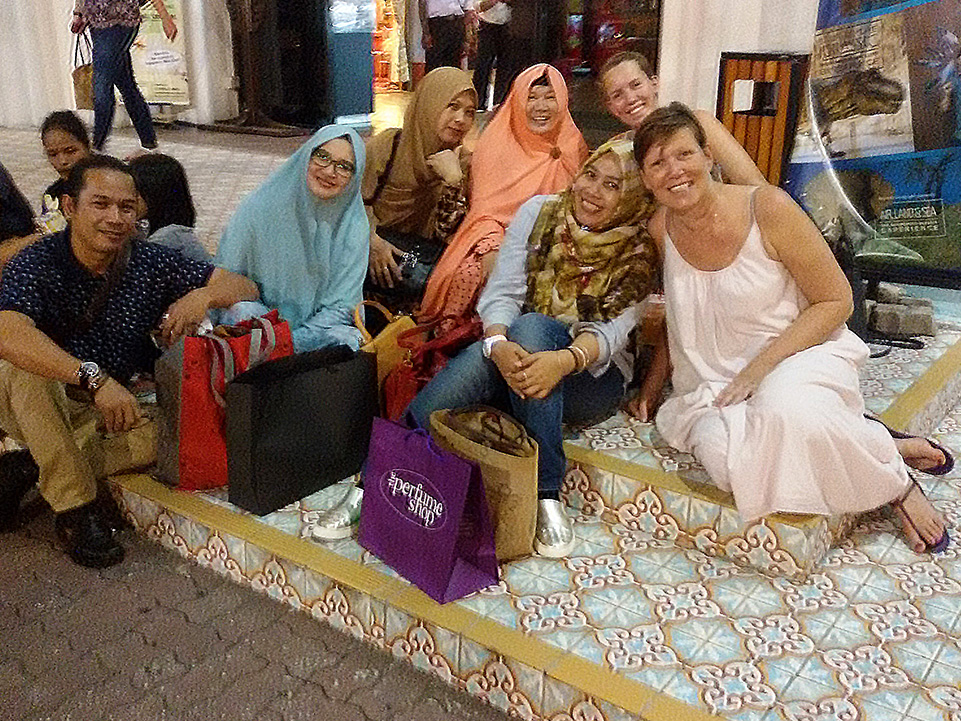 Group of people at Kuala Lumpur in Malaysia, the Melting Pot of Asia