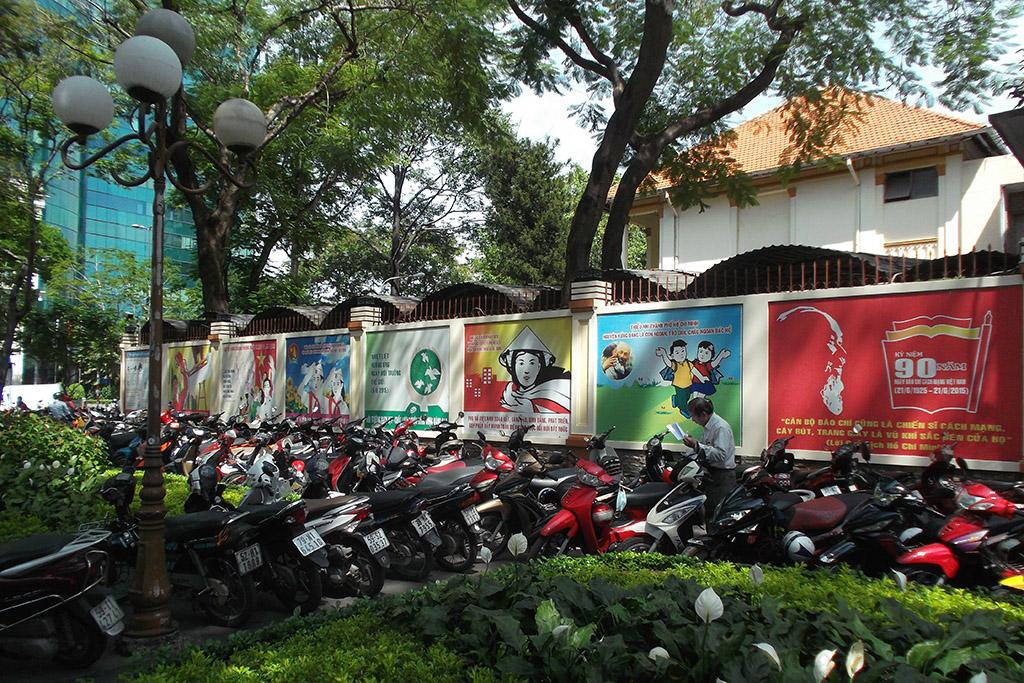 Propaganda in Ho Chi Minh City