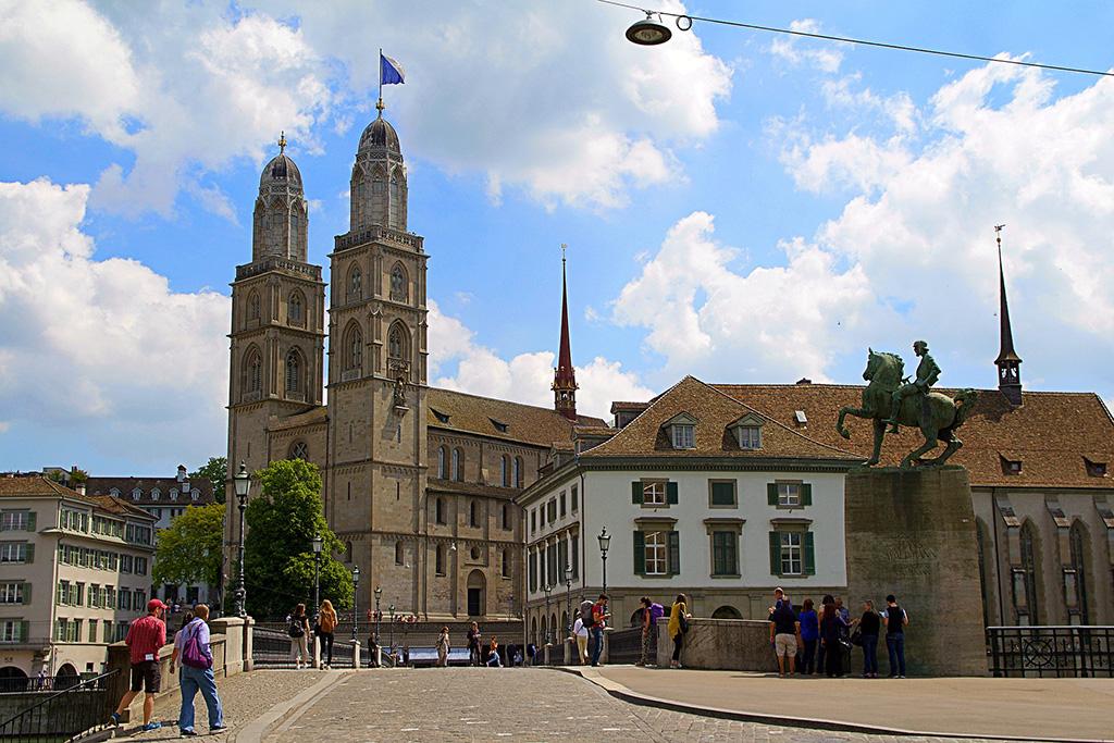 The Grossmünster in Zurich