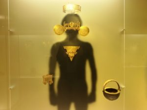 Exhibit at the Museo del Oro in Bogotá