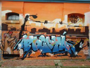 Bogota-Graffiti in Bogota