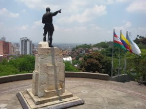 Statue of Sebastián de Belalcázar at Cali, Colombia