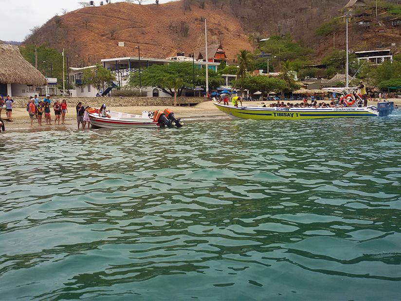 Taganga Beach
