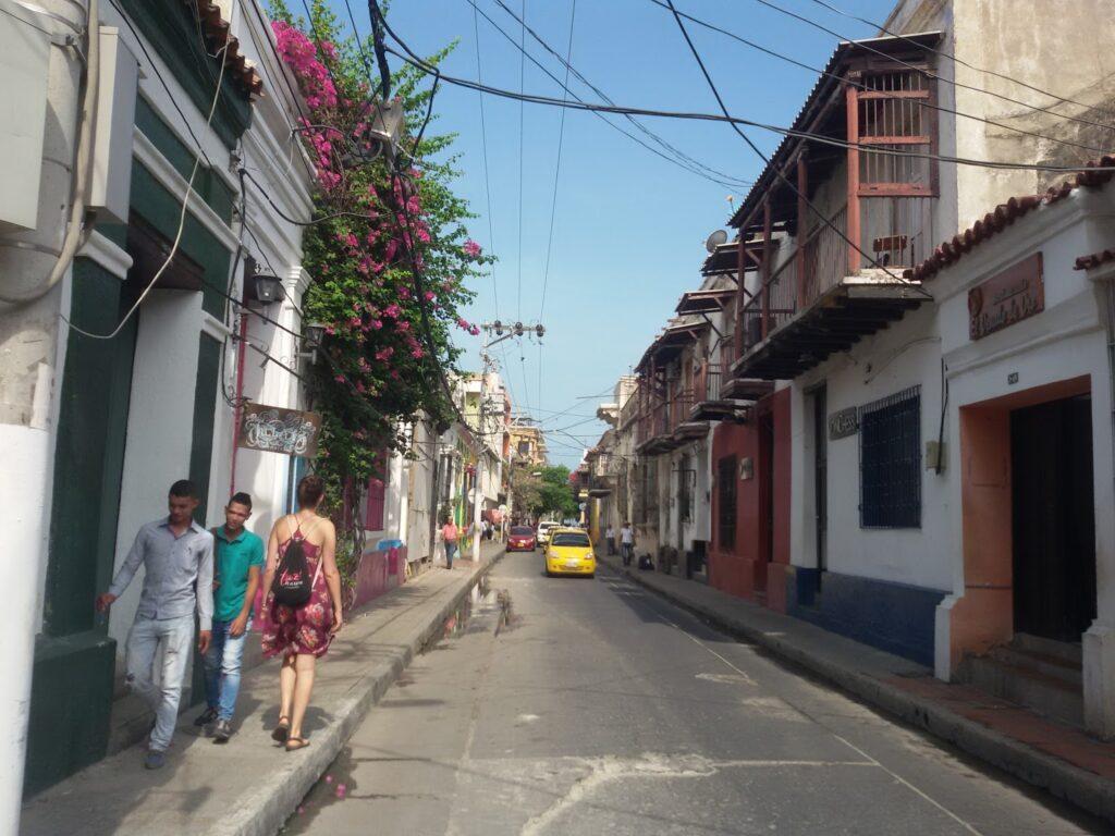 Street in Santa Marta