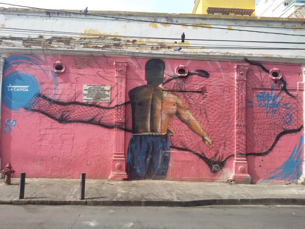 Streetart in Santa Marta