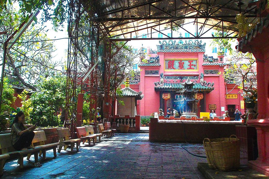 The Jade Emperor Pagoda in Ho Chi Minh City