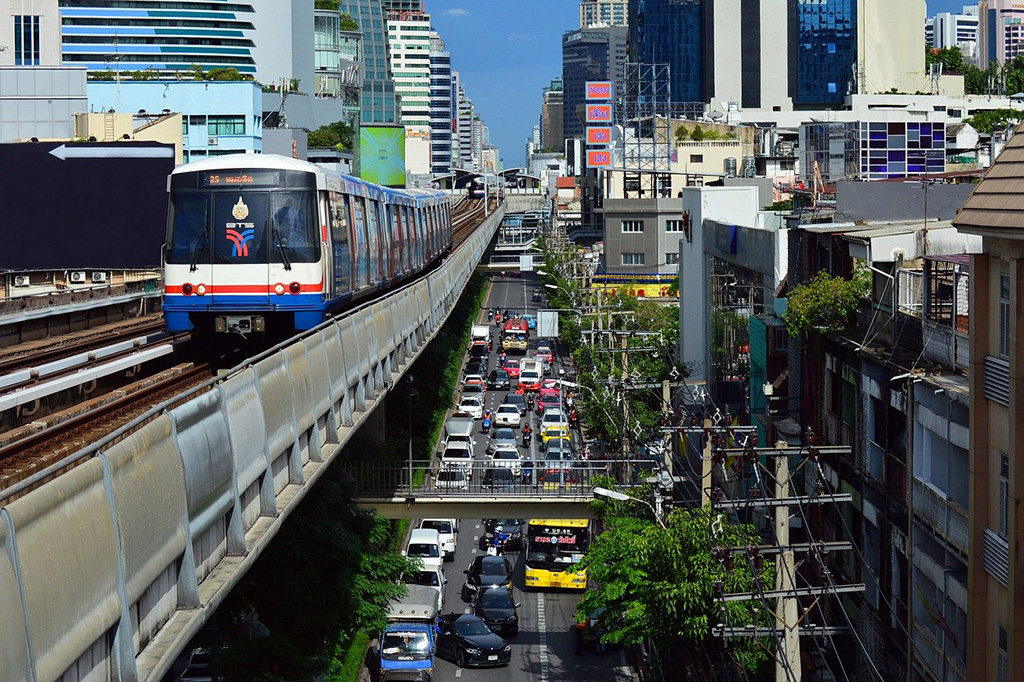 MRT in Bangkok