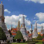 Chedis at Wat Phra Kaeo
