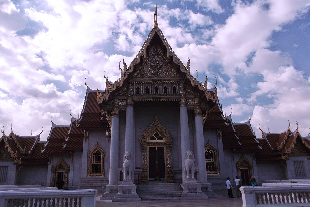 Wat Benchamabophit Dusitvanaram in Bangkok when staying more than just one night.