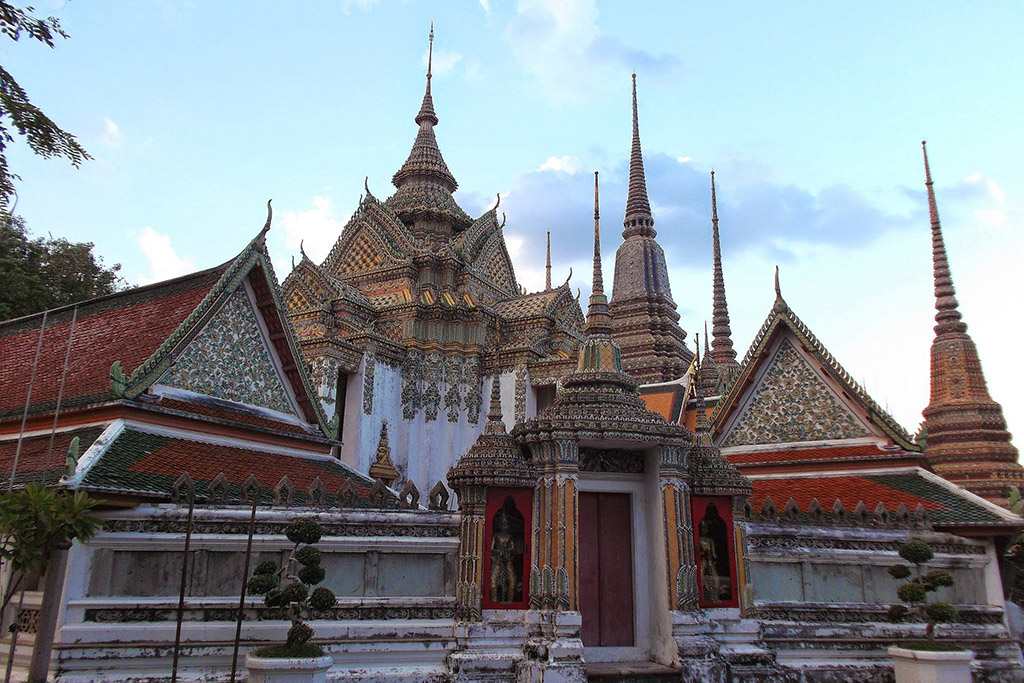 Wat Pho in Bangkok when staying more than just one night.