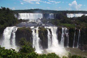 Waterfalls at Foz do Iguaçu
