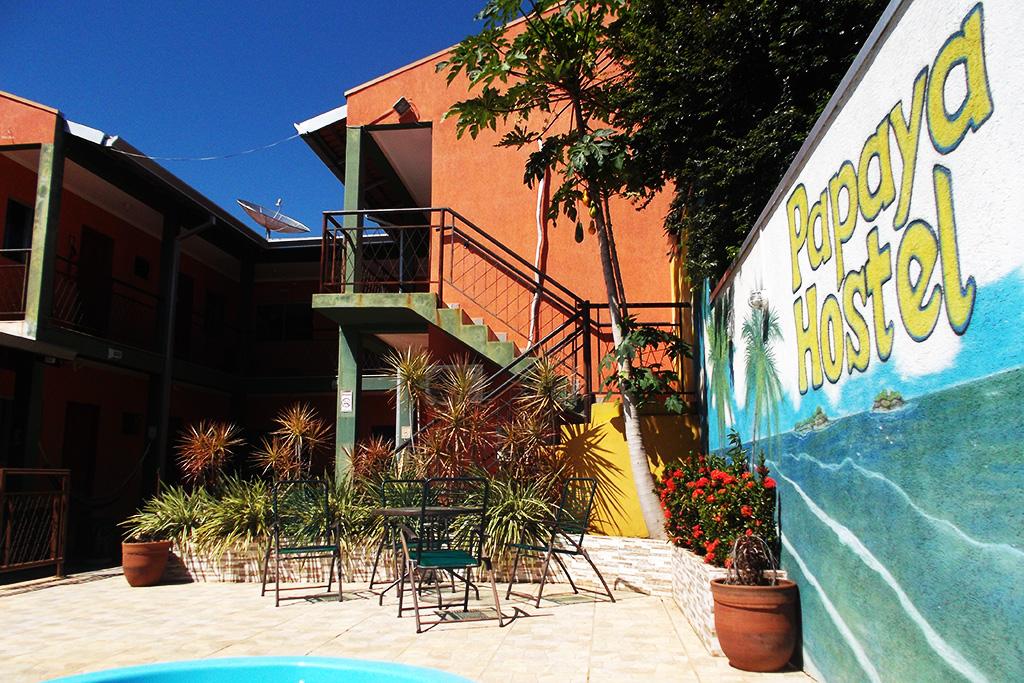 Papaya Hostel in Bonito where nomen est omen