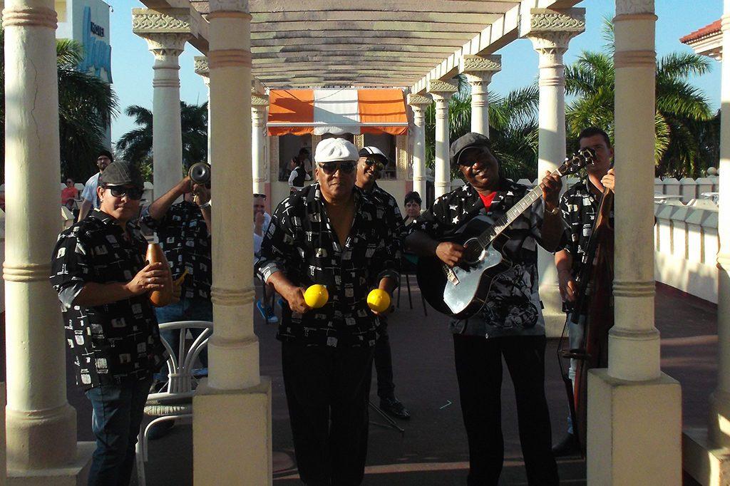 Salsa Band at the Palacio del Valle in Cienfuegos