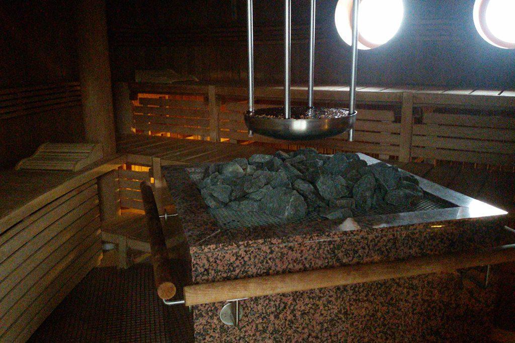 Sauna on Borkum West of East Frisia