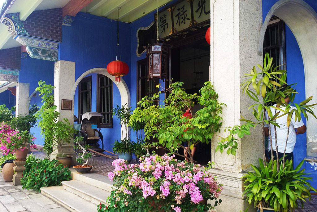 Cheong Fatt Tze Mansion in George Town on Pulau Pangkor