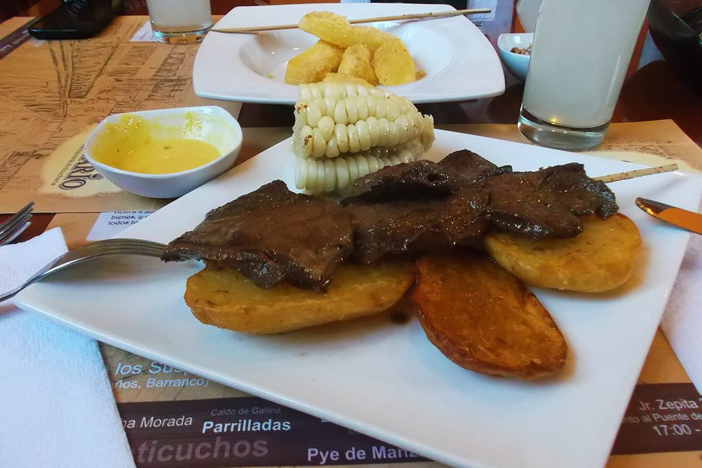 Anticuchos in Barranco
