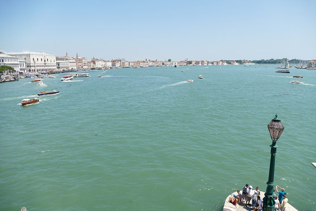 Italy Venice View from the Punta della Dogana's Belvedere