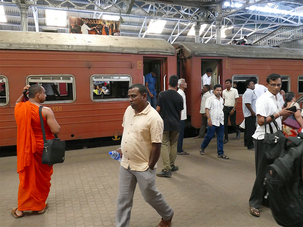 Train Station of Colombo