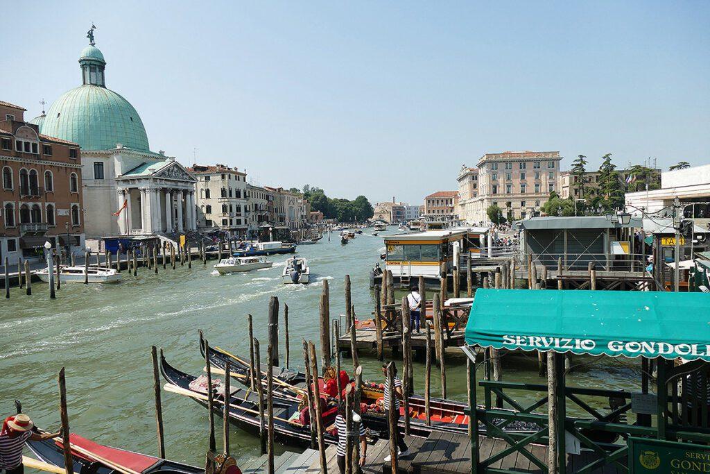 Italy Venice Canale Grande