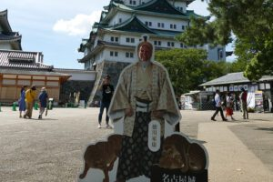Renata Green at the Nagoya Castle