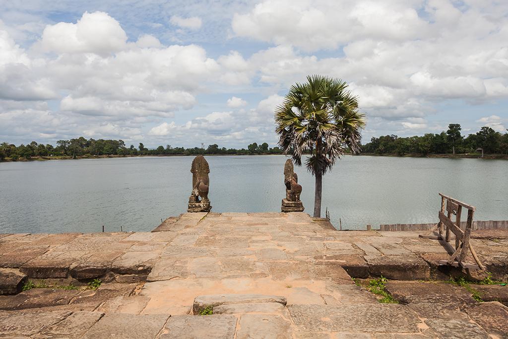 Srah Srang at Angkor Wat in Siem Reap
