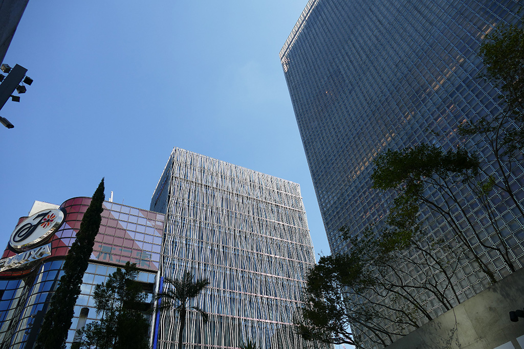 skyscrapers at Ginza.