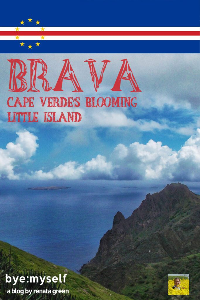 Pinnable Picture for the Post Guide to BRAVA, Cape Verde's blooming little island