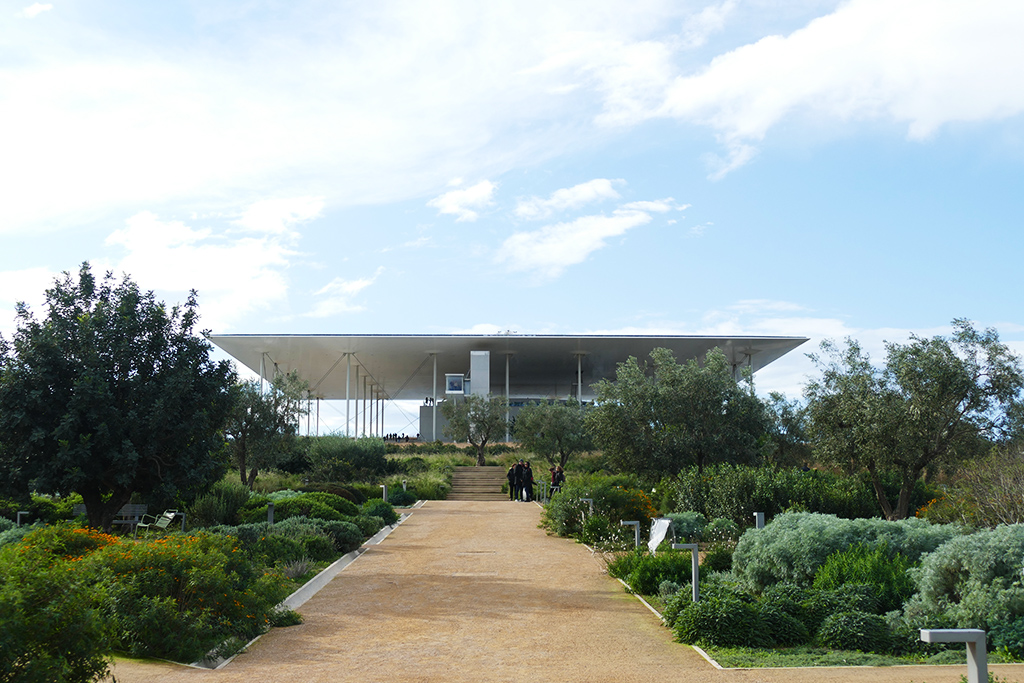 The SNFCC by Renzo Piano at Athens