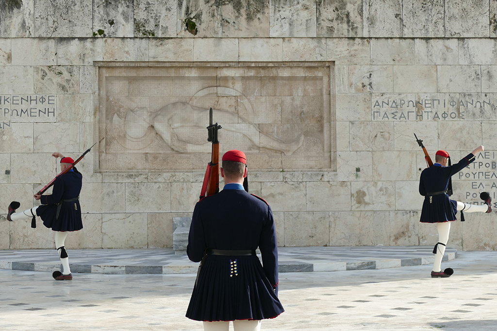 Guards of the Monument of the Unknown Soldier