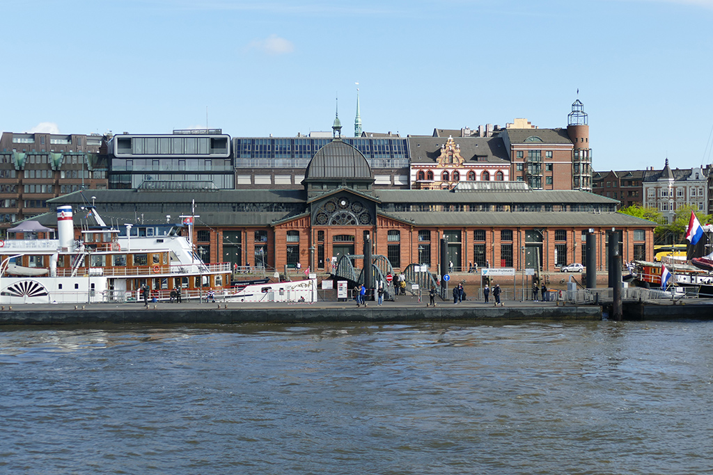 Old Fish auction hall in Hamburg - a must in every Guide to Hamburg