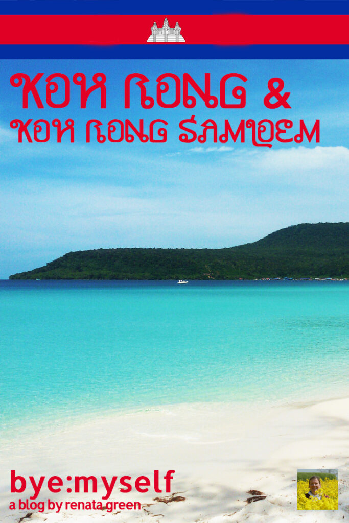Pinnable Picture for the Post on Koh Rong and Koh Rong Samloem