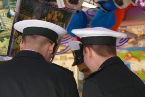 Sailors at the Port of Hamburg