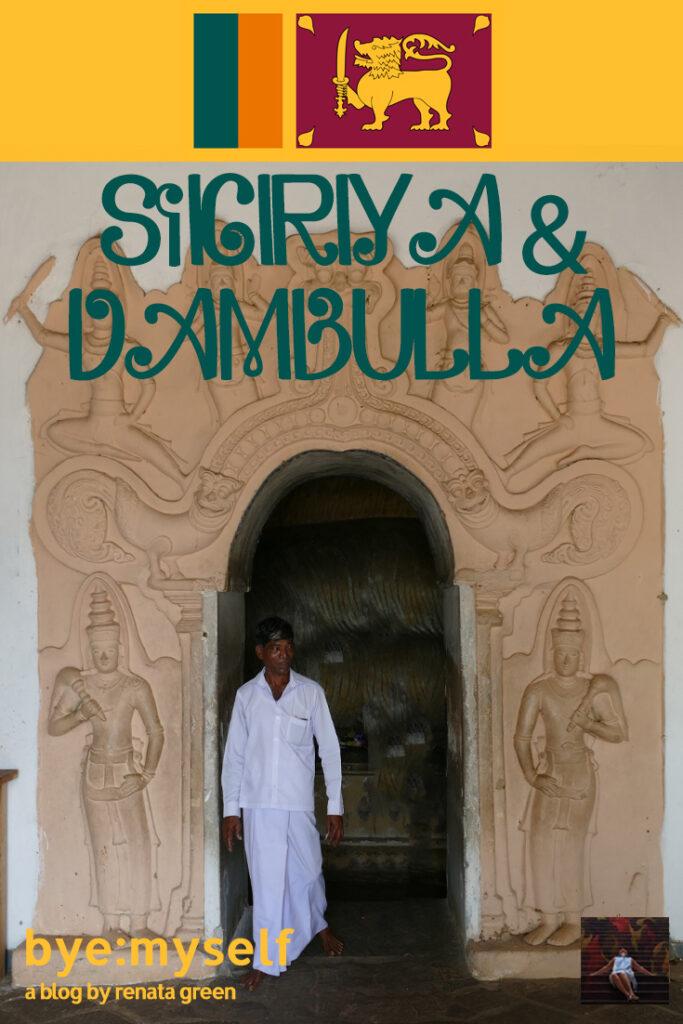 Cave Temples at Dambulla in Sri Lanka