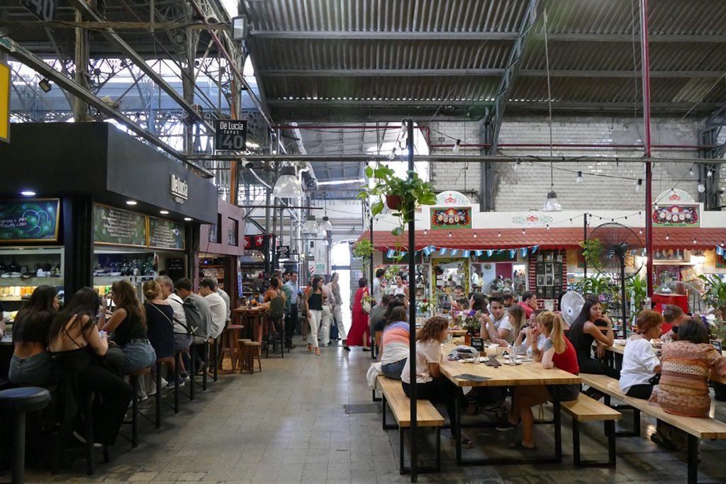 Mercado de San Telmo in Buenos Aires