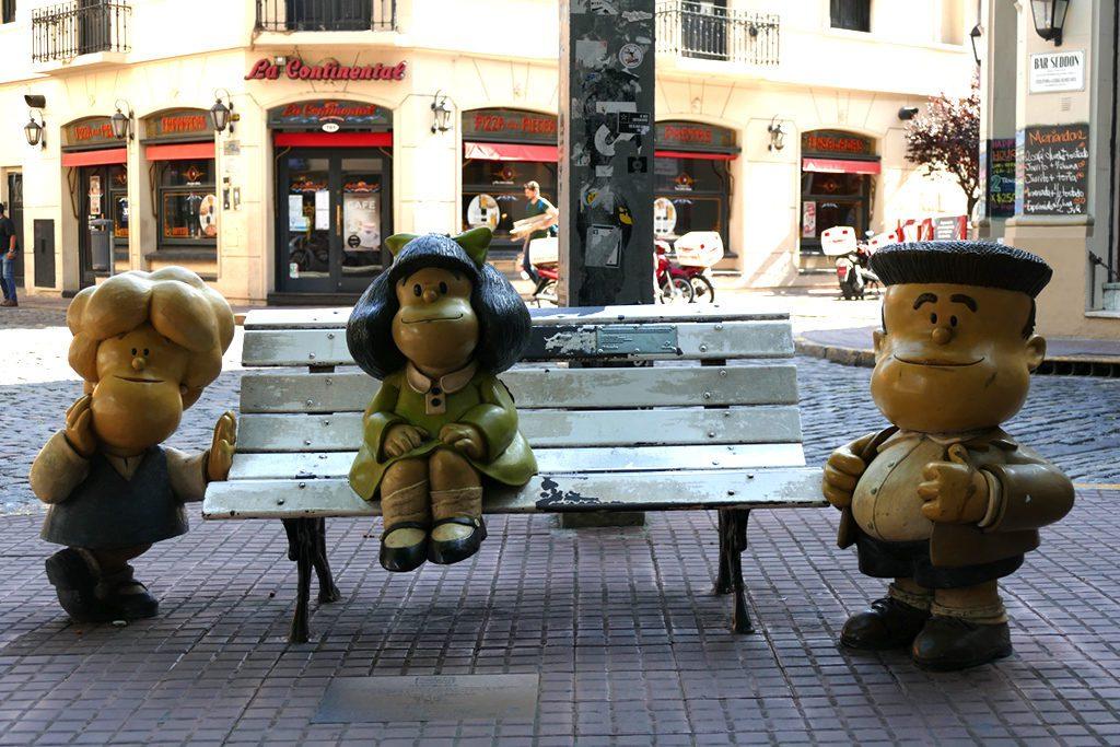 Monumento a Mafalda in Buenos Aires