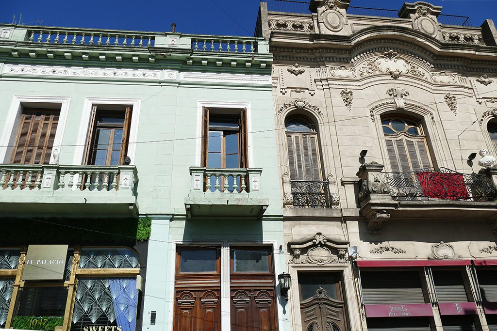 Remodeled old building in the San Telmo neighborhood.