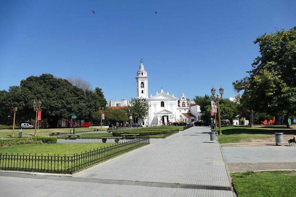 Basílica del Pilar at Buenos Aires