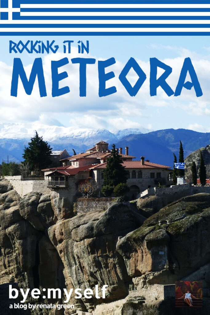 Visiting Meteora will rock your world: The six remaining monasteries are picturesquely built on narrow, steep limestone rocks.