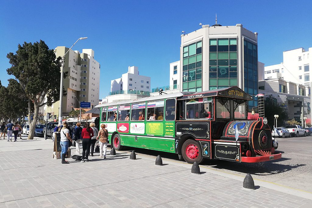 Tourist Bus at Puerto Madryn