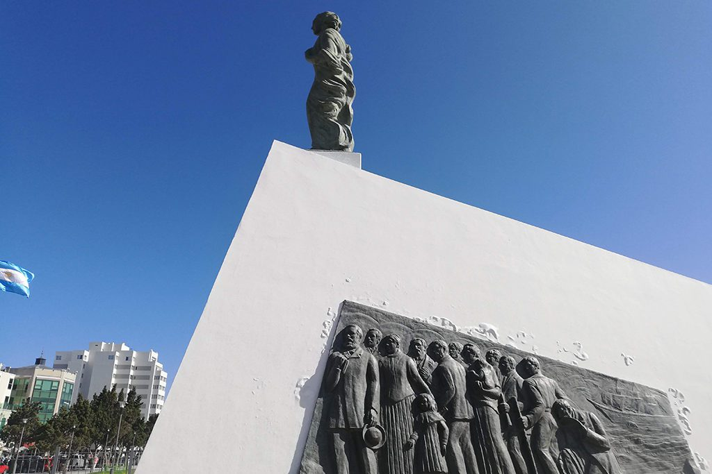 Welsh Settlers Monument in Puerto Madryn