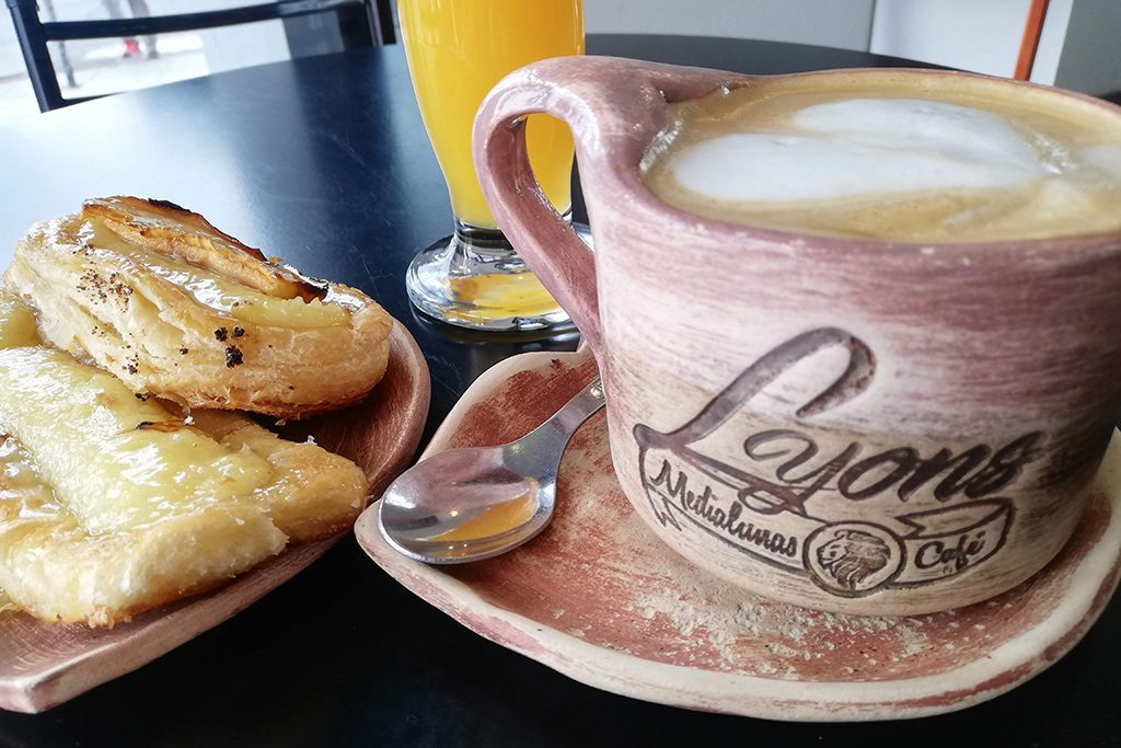 Breakfast at a Cafe in Puerto Madryn