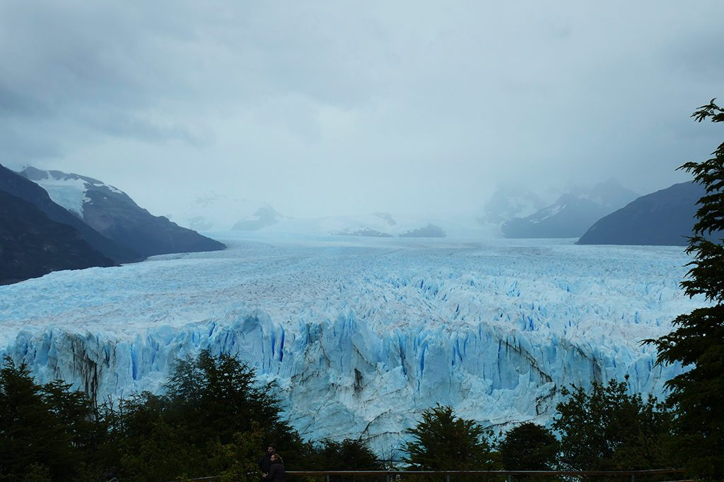 Perito Moreno Glacier seen from above