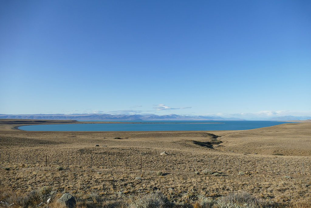 Patagonia between El Calafate and El Chalten