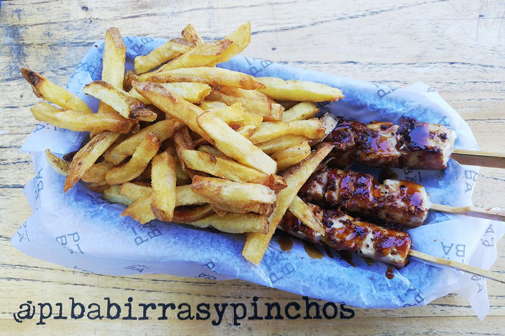 Pinchos and Fries