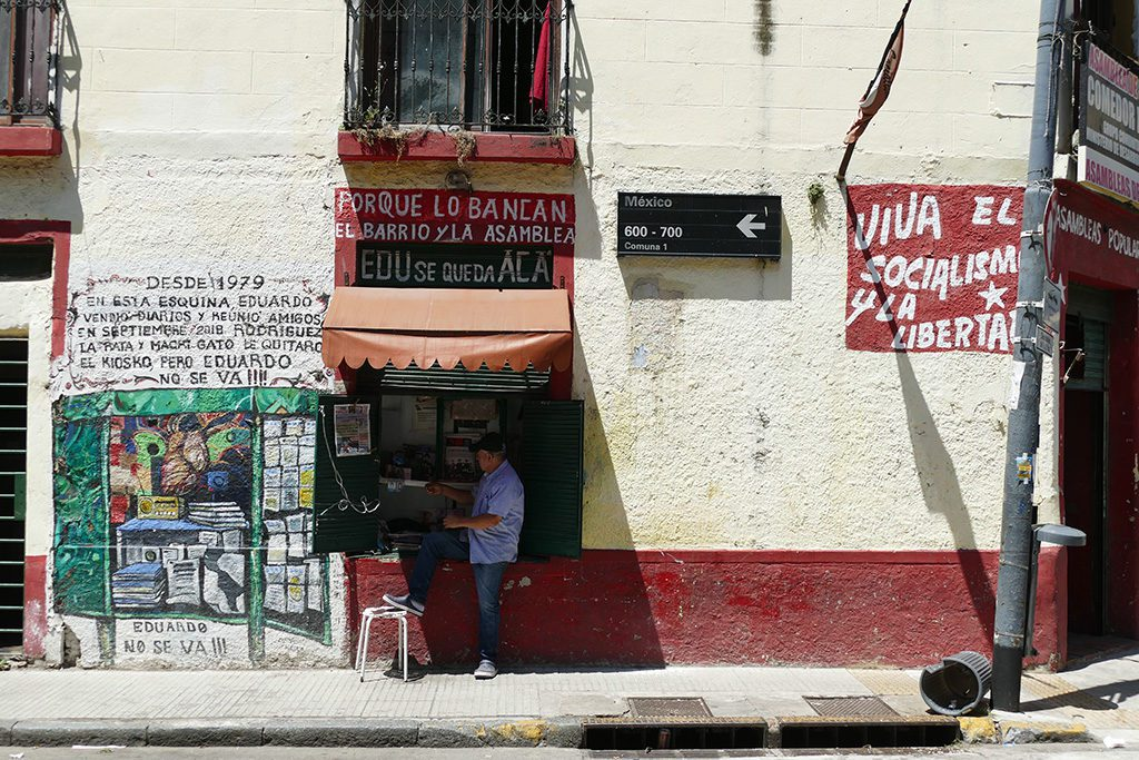 Wild Kiosk in San Telmo