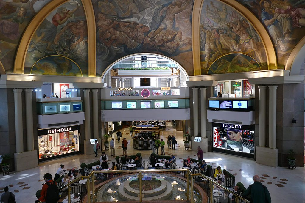 Galerias Pacifico Mall in Buenos Aires